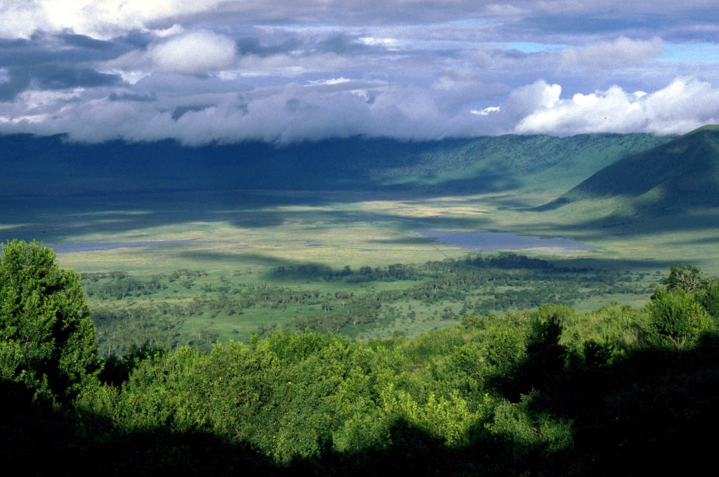 The magnificent Ngorongoro Crater