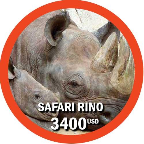 Itinerario Safari Rino Tanzania + Zanzibar