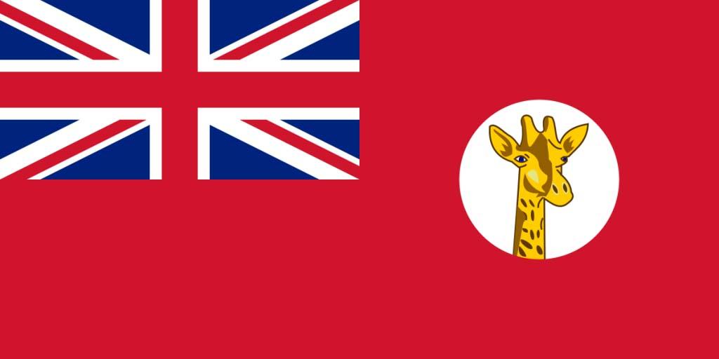 Flag of Tanganyika Territory