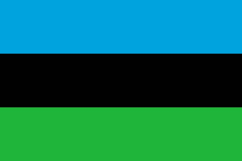 Flag of the People's Republic of Zanzibar and Pemba