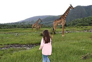 Passeggiata Naturalista Arusha viaggio di lusso
