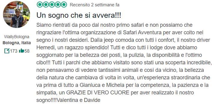 Recensione Safari Avventura 5