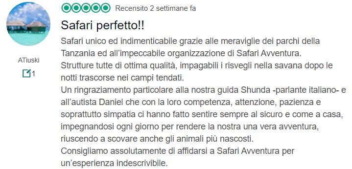 Recensione Safari Avventura 6