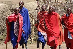 Visita al villaggio Masai