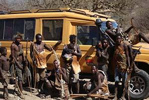 tribù del lago Eyasi