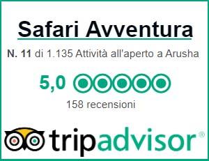 Recensioni TripAdvisor Safari Avventura