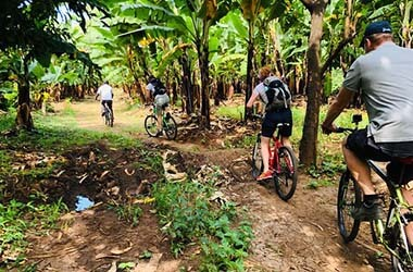 bike ride to Mto Wa Mbu