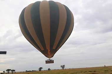 Balloon safari Serengeti