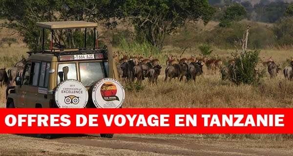 Offres de voyage en Tanzanie