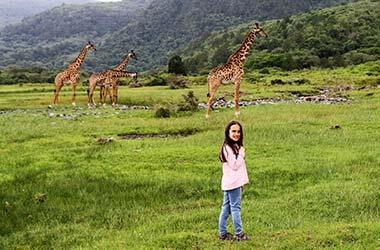 Passeggiata naturalistica al Parco nazionale di Arusha