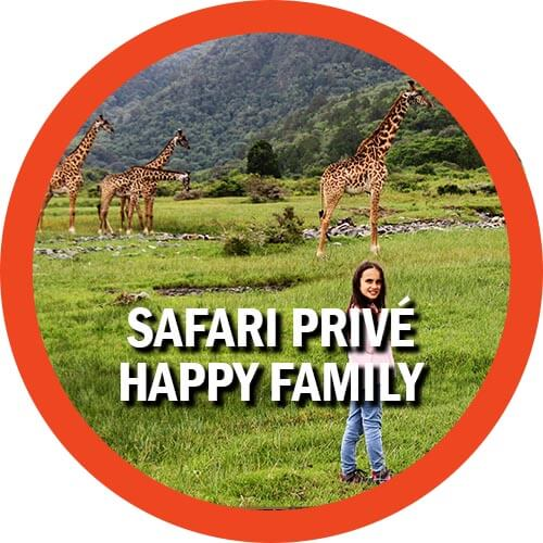 Safari privé en Tanzanie avec des enfants