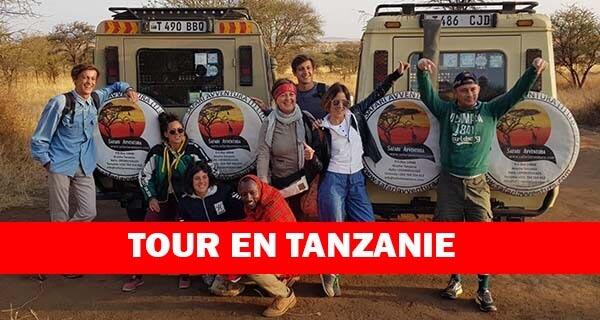 Tour en Tanzanie