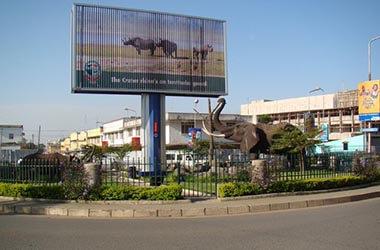 Visita mercato di Arusha