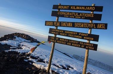Uhuru Peak monte Kilimanjaro