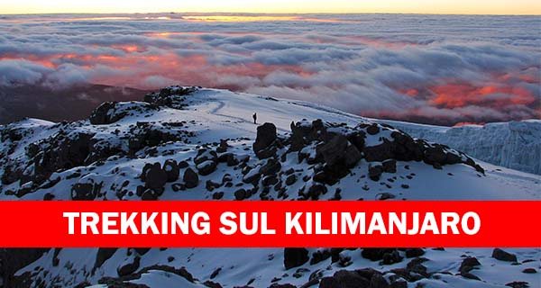 Trekking monte Kilimanjaro